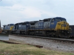 CSX 9009 hlcx 7169 csx 7692